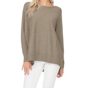 Sweaters - NWT Cozy Carmel Tan Crew Neck Sweater